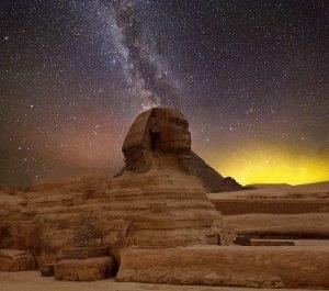 Die Große Sphinx von Gizeh