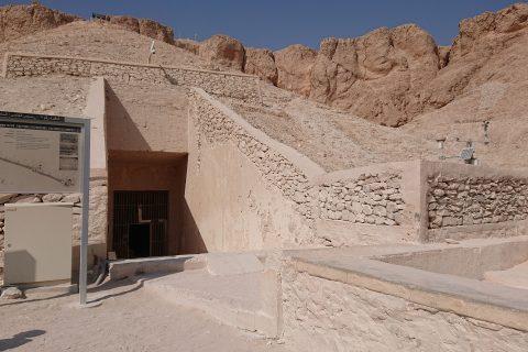 Grabkammer Im Tal Der Koenige Eingang 480x320