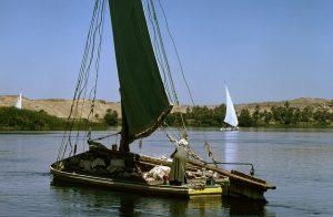 Der Handelsweg auf dem Nil