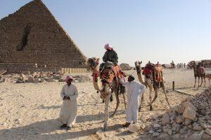 Kairo Pyramiden Rundgang