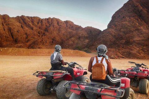 quadtour durch die wüste ägyptens