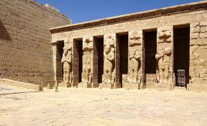 Theben Luxor Tempel Medinet Habu