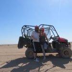Mit Wüsten-Buggy unterwegs