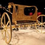 Kutsche im Museum in Ägypten